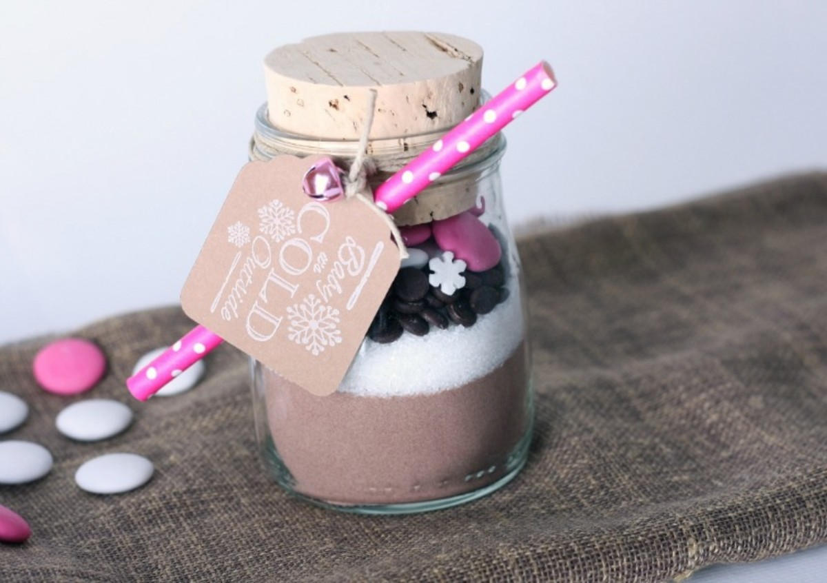 Homemade gifts are always fun to give and receive and can save you lots of money.