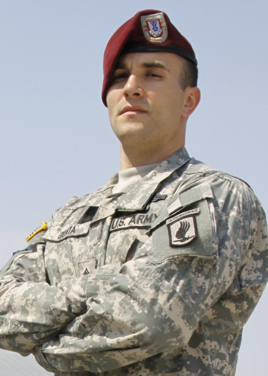 A service member.