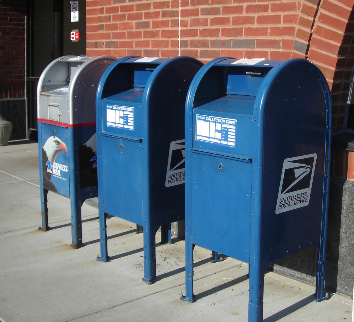 If your flat-rate package is small enough, you can drop it into any USPS drop box instead of taking it to the post office.