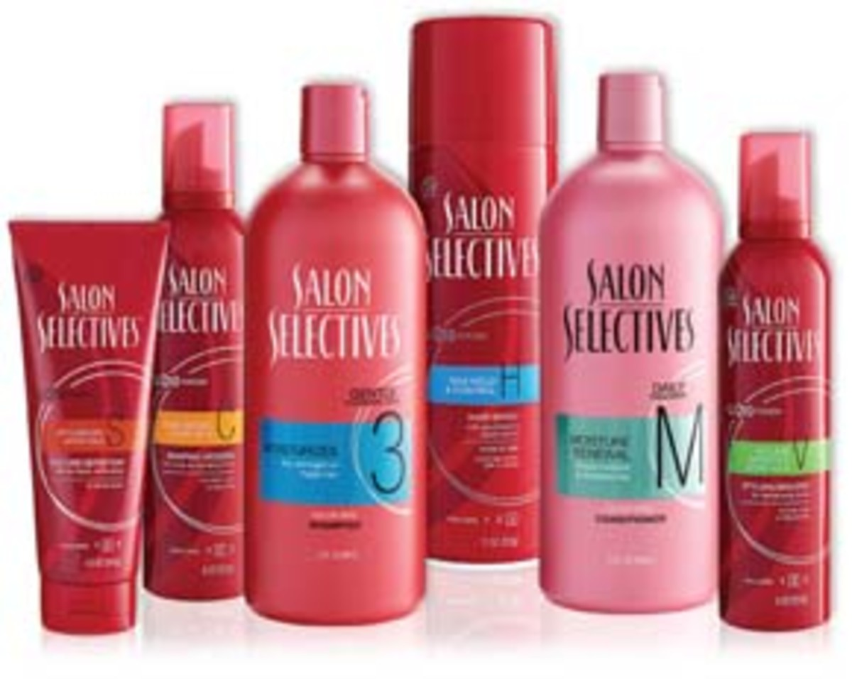Salon Selectives Family of Products 2011.