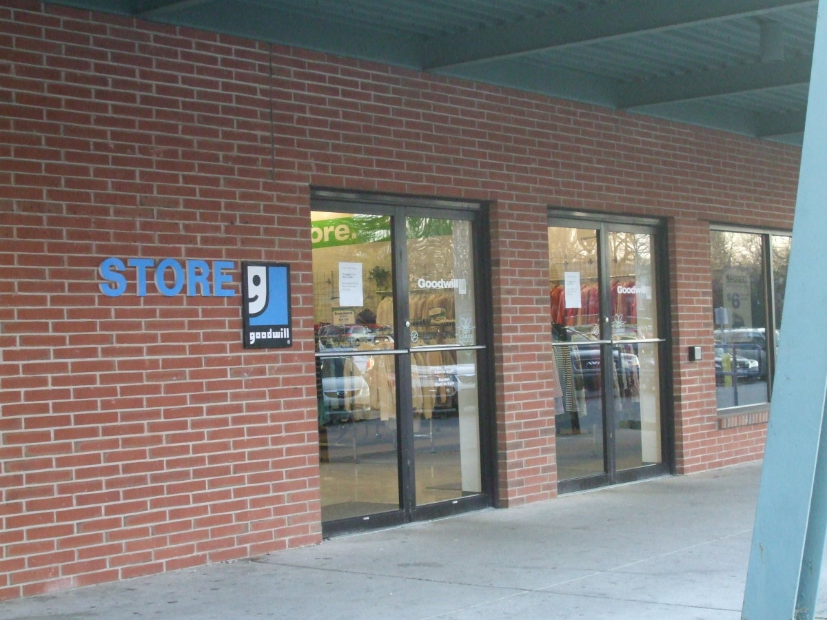 The familiar logo marks the store.