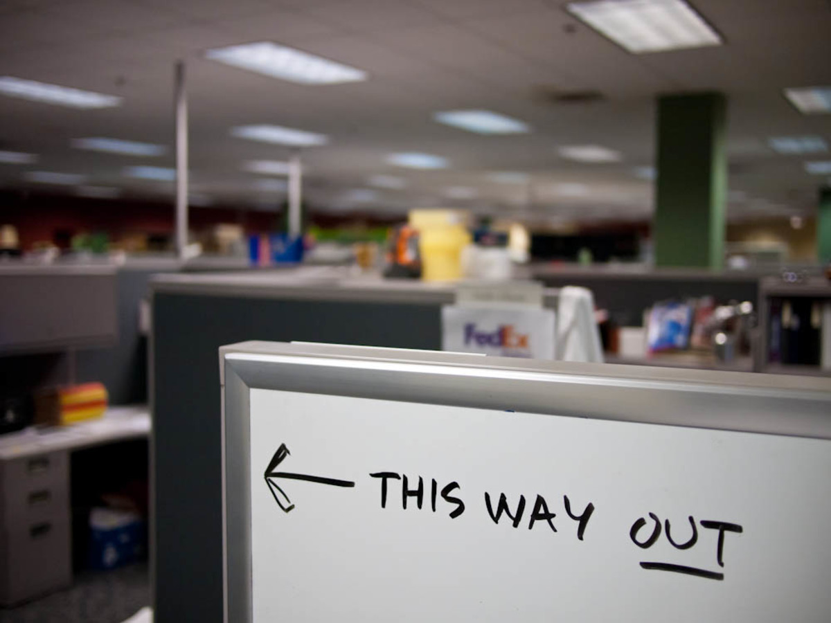 Cubicle farms can feel like rat mazes.  You might need help finding your way.