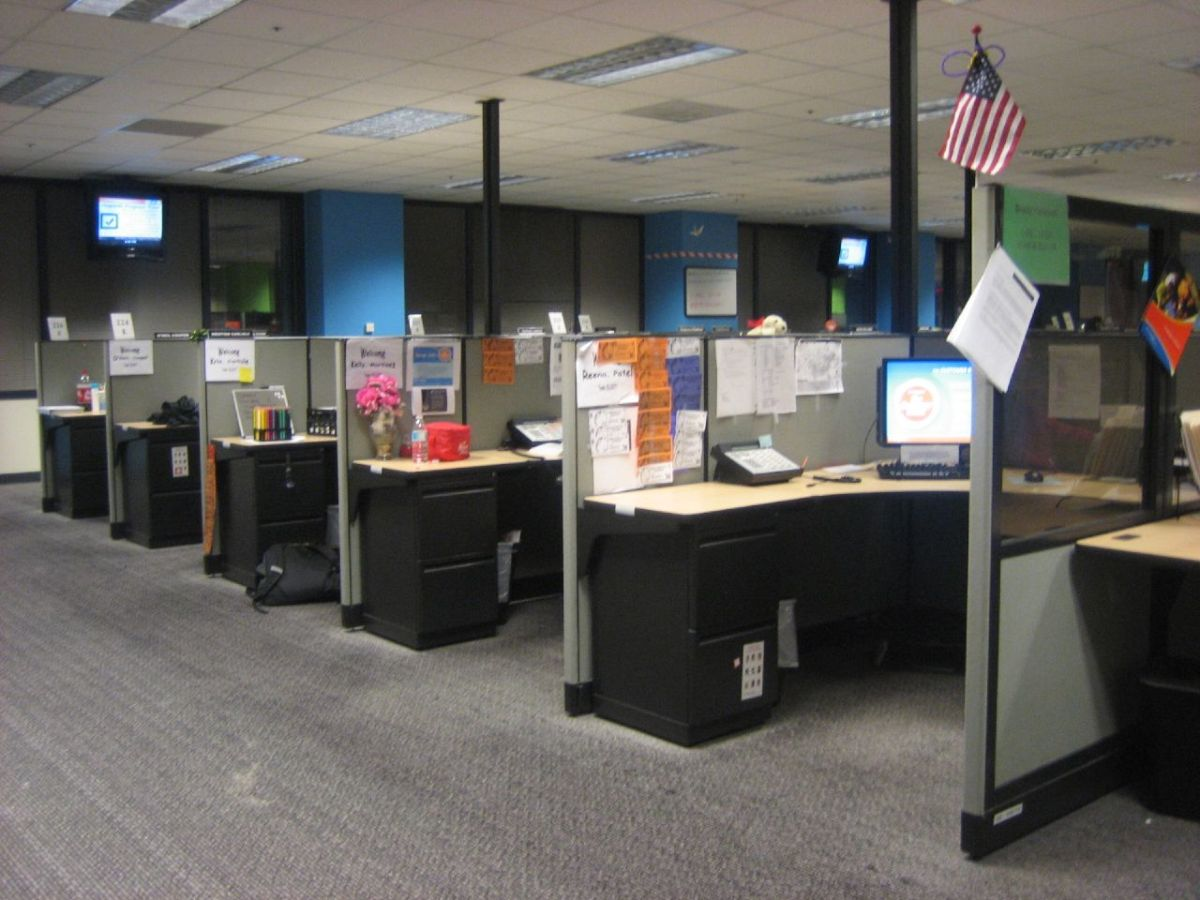 Do you work in cubicle row?