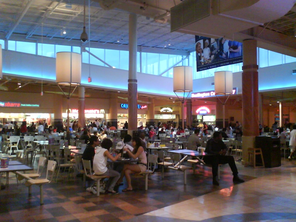 Picture Of Potomac Mills Mall Food Court