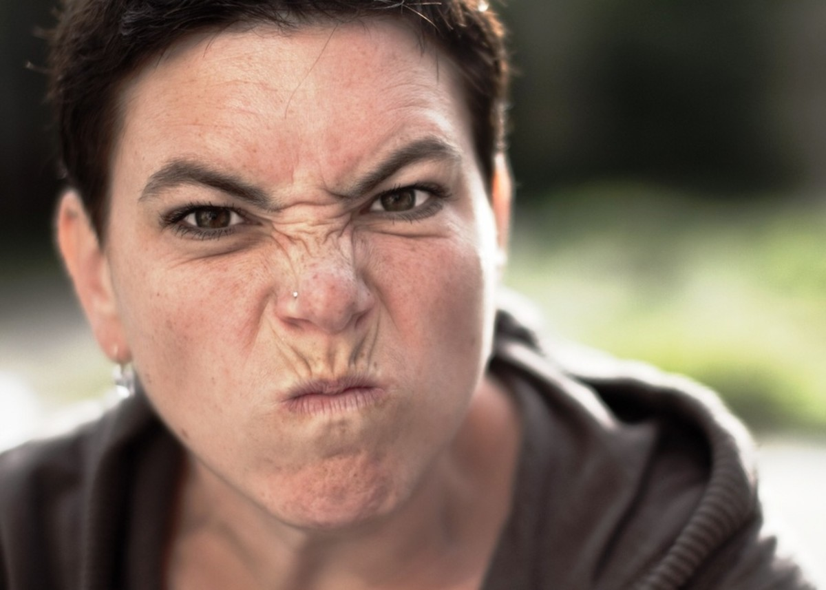 Jerks can be male or female, coworkers, or bosses.