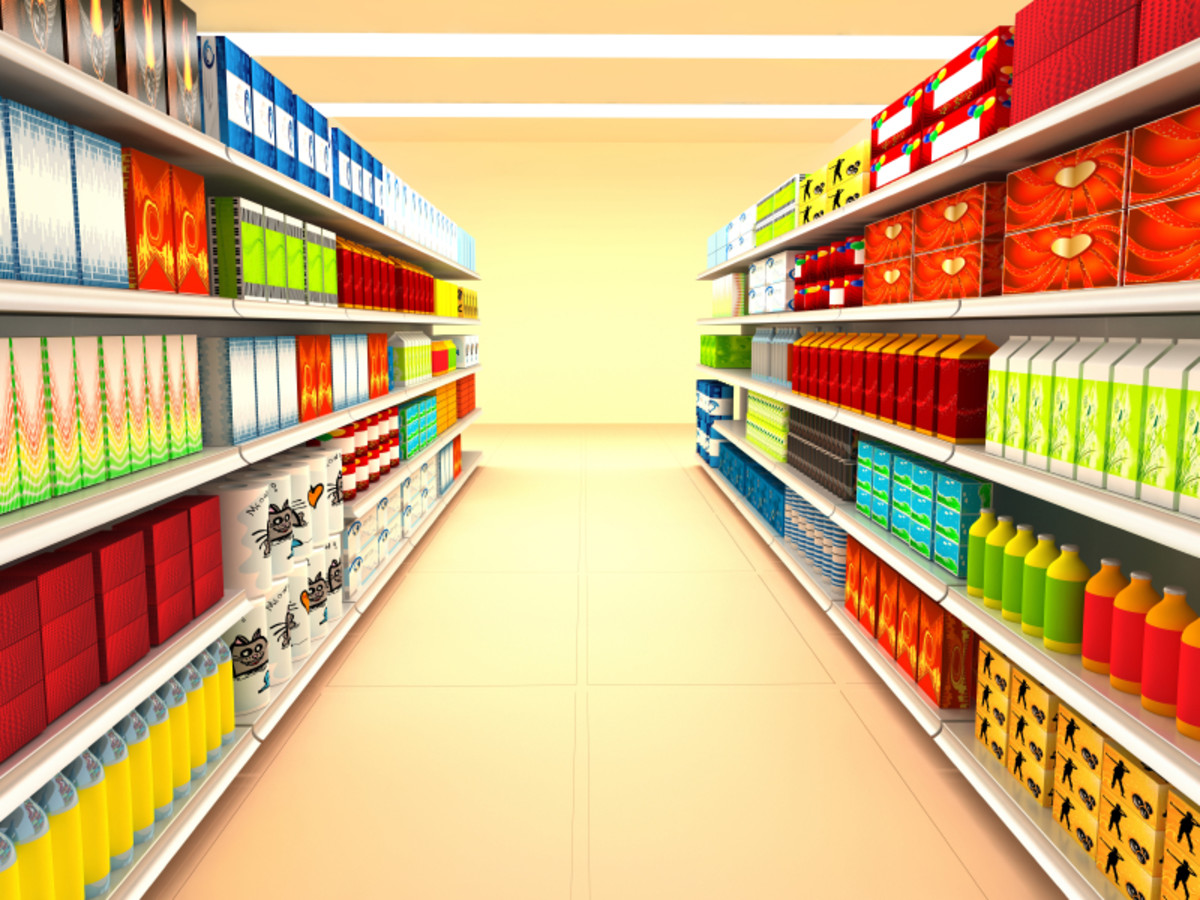 Location factors are important both outside and inside for retail operations.