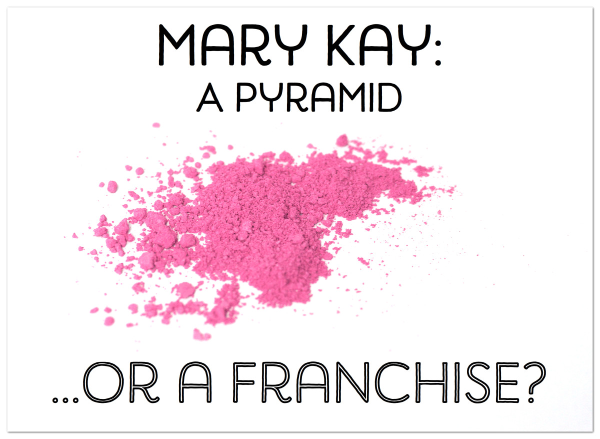 Is Mary Kay a pyramid scheme or a franchise?