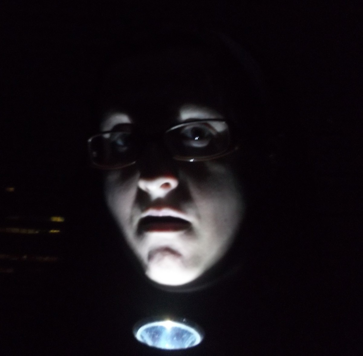 Inspired by Blair Witch Project for this photo.