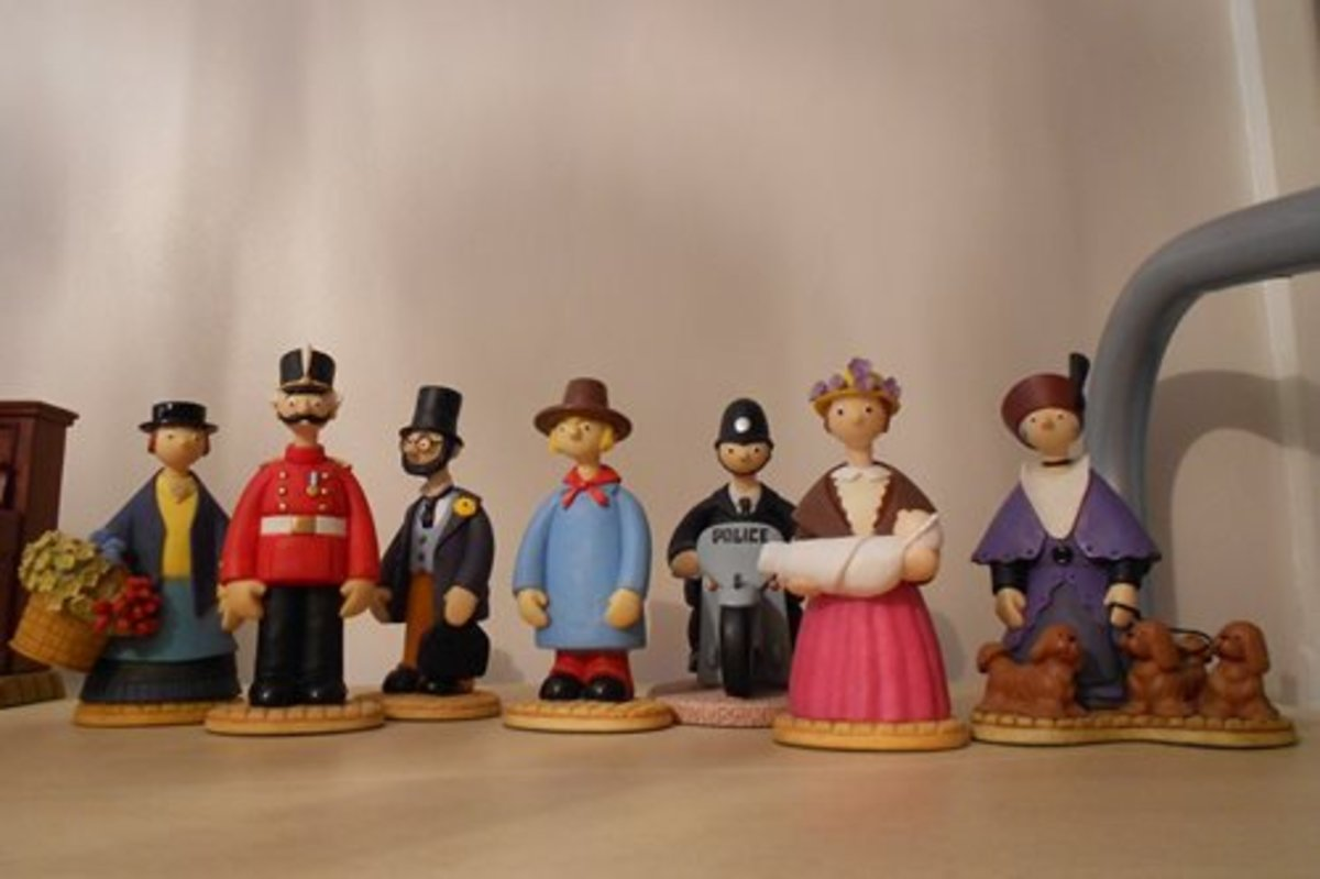 Some Robert Harrop Camberwick Green Figures. Robert Harrop makes a wide variety of resin collectibles and most of these have a very good second hand value on eBay