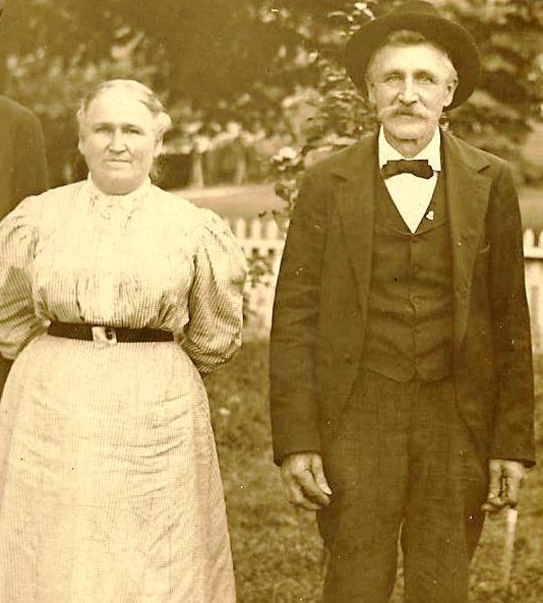 The Stoeckls held different religious beliefs when they met in 1908 and quickly decided to marry.  Whose religion would they follow?  They flipped a coin on it.  Catholicism won out.