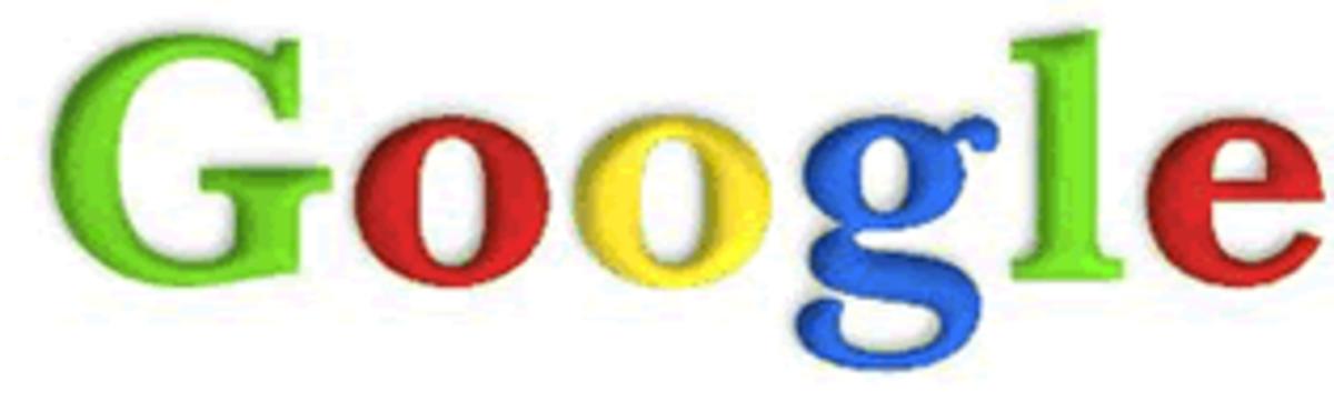 Google's Original Logo in Baskerville Bold