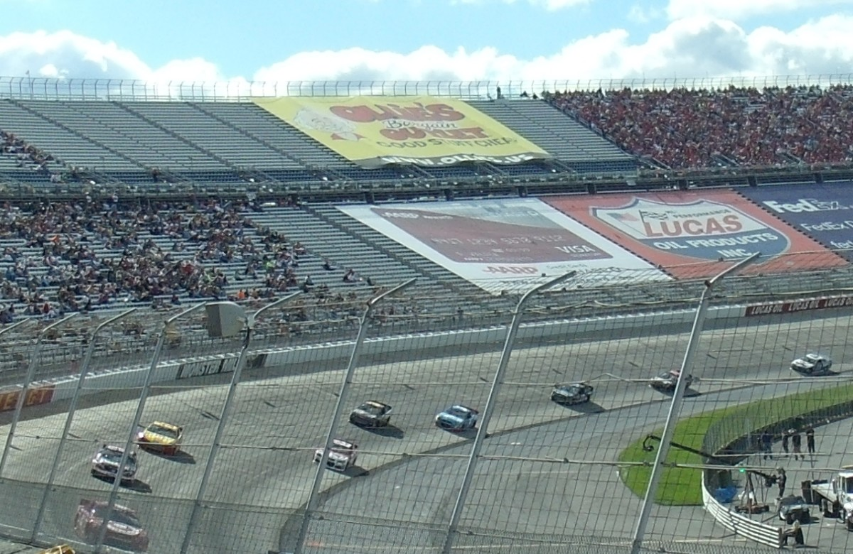 Fewer fans are attending races, leading to space in the grandstands and less revenue for the tracks