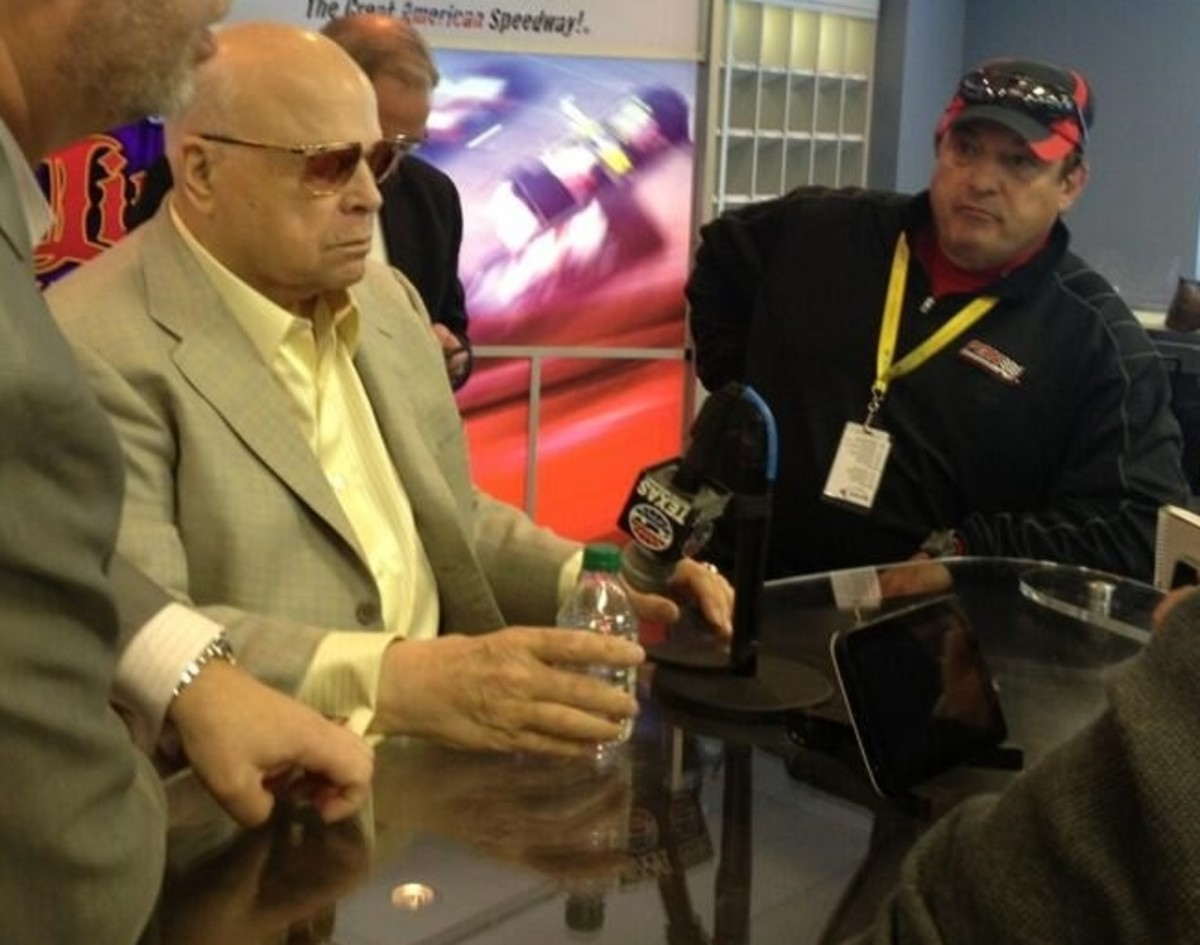 SMI Chairman Bruton Smith (left) along with Mark Garrow