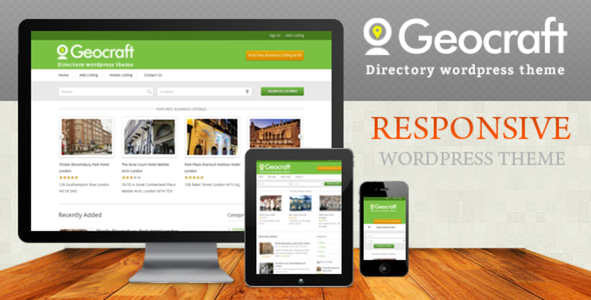 You can use a Wordpress theme to build your directory site.