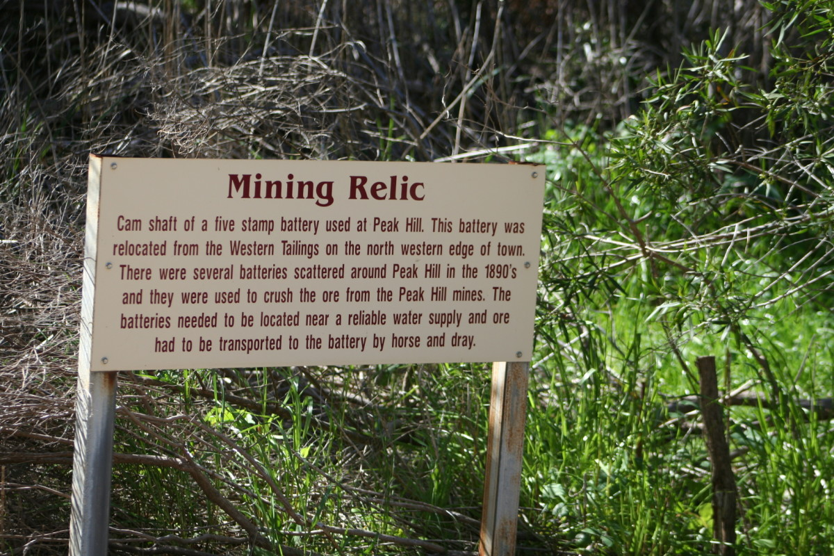 It was interesting to see the history of this mine site that began as a site dug by hand - and ended its life in the age of technology.