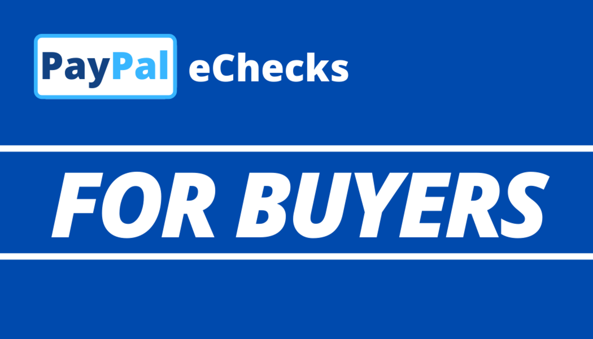 Here's what you need to know about making purchases with PayPal eChecks.