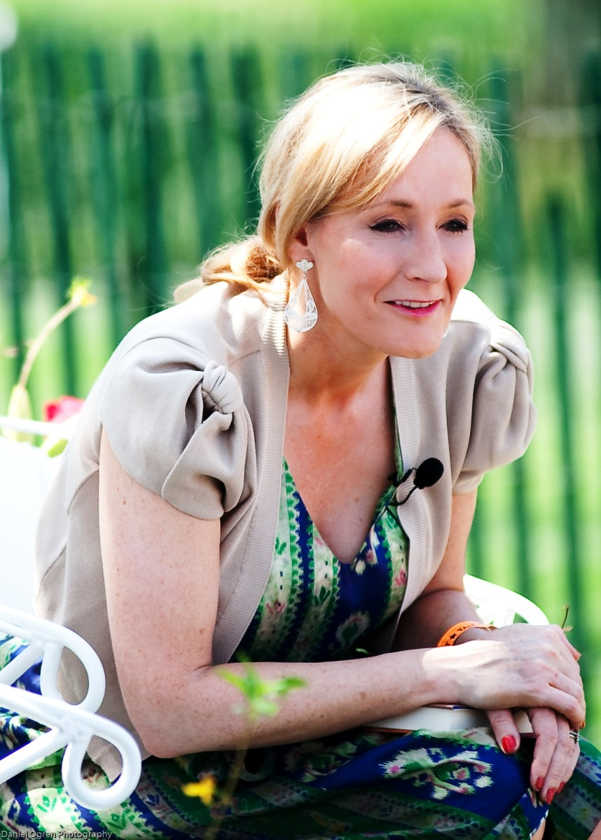 During the seven years that it took her to write the first Harry Potter book, J.K. Rowling faced divorce, her mother's death, and poverty. Her Harry Potter series launched her to superstardom.  Harry Potter is the all-time best-selling book series.