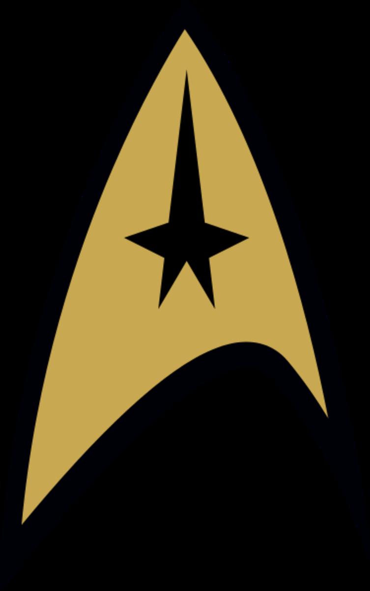 """An emblem from """"Star Trek: The Original Series."""""""