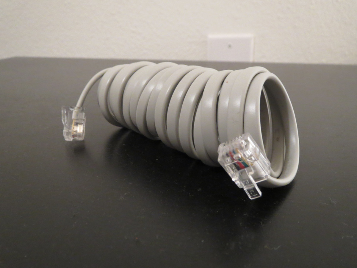 Four-Strand Telephone Wire