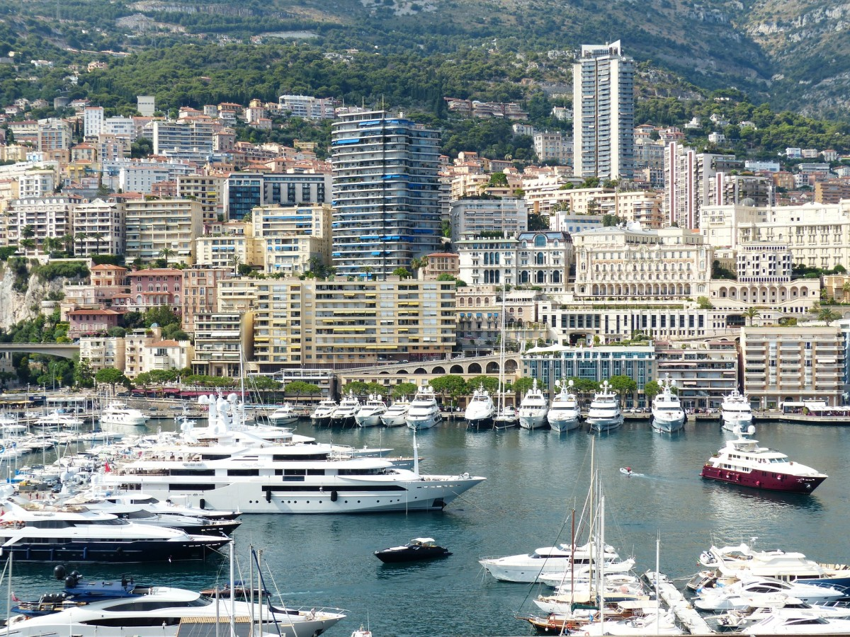 Monaco Marina is a beautiful place.