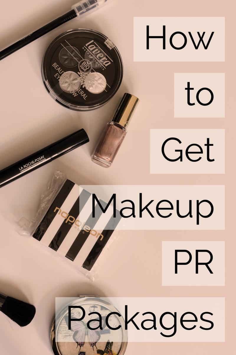 Makeup artists and bloggers who review products can receive generous PR packages from companies, particularly when there is a new line launched.