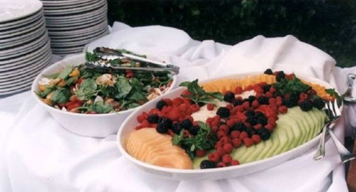 You can't go wrong when you bring a fresh fruit or veggie dish to an office potluck.