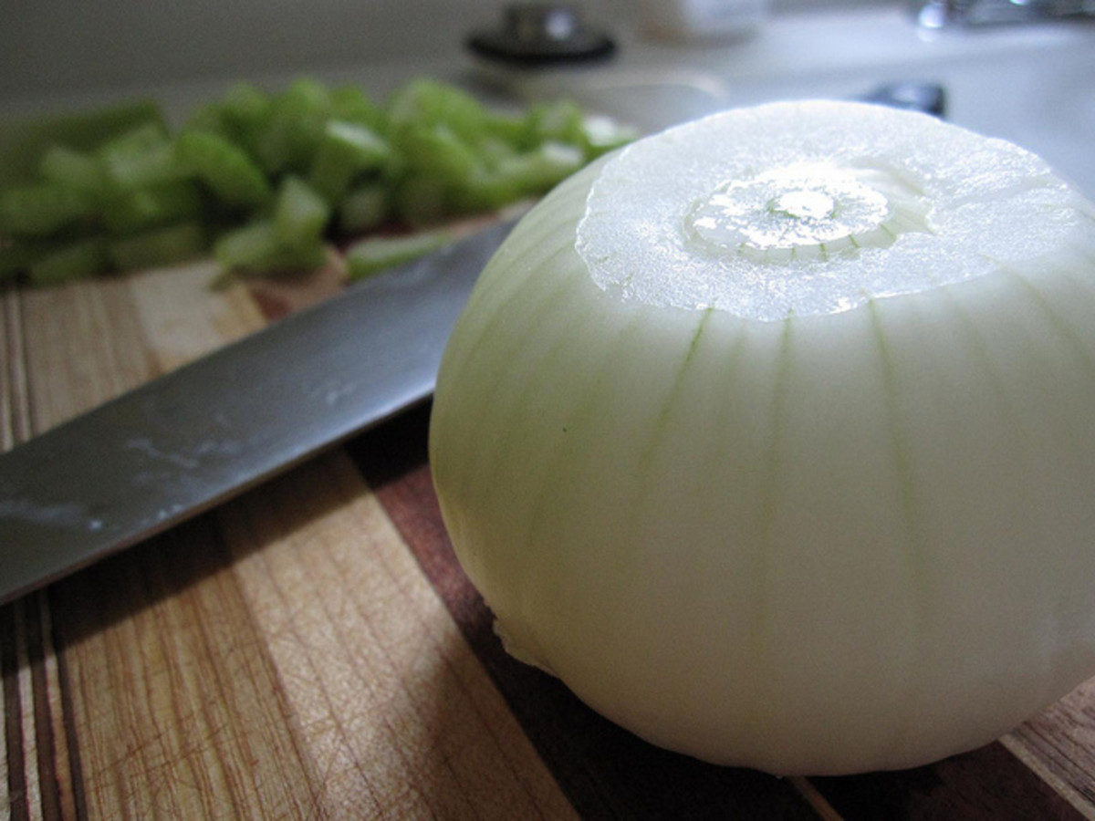 Prevent tears when you're chopping onions  with a simple trip to the freezer first.
