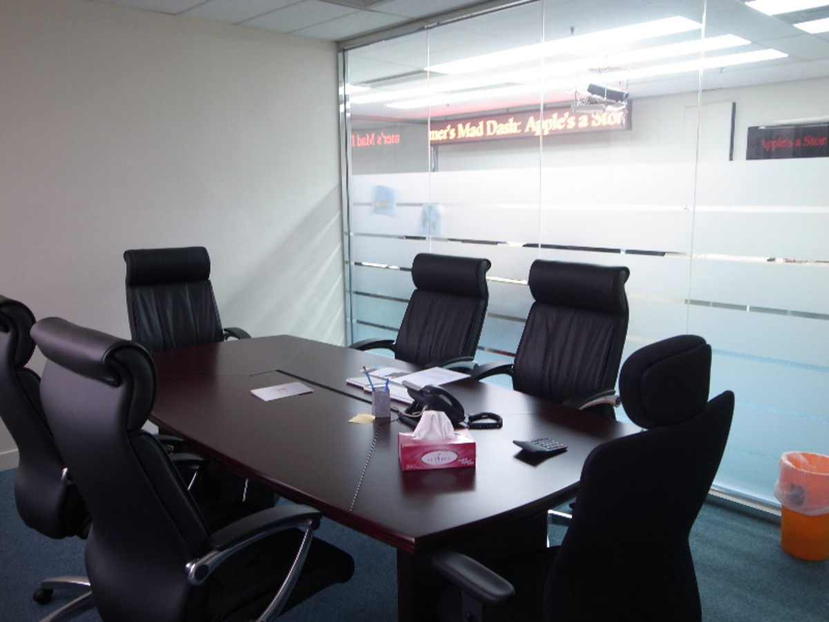 An empty boardroom inspires much confidence in the company. This photo is from PT's photo stream.