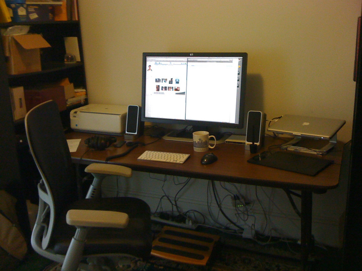 wheelchair accessible desk accessible office space
