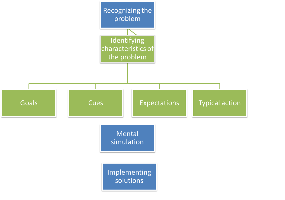 Recognition-primed decision making model