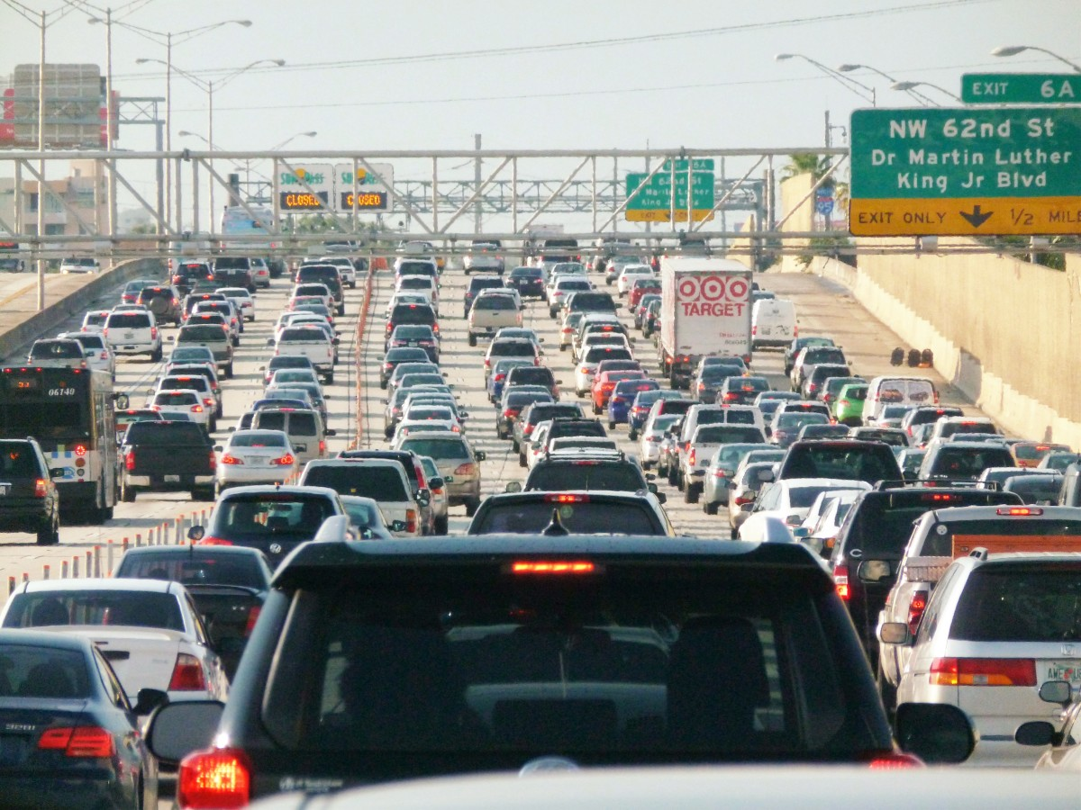 The influx of people moving to Florida has caused some terrible traffic all over the state.