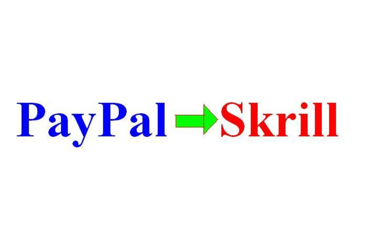 Paypal to Moneybookers