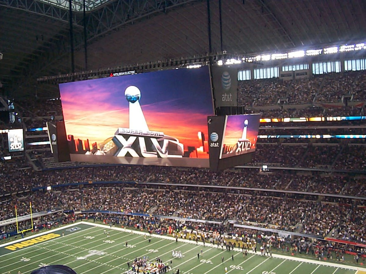 I won a trip to Super Bowl XLV from an Instant Win Sweepstakes!
