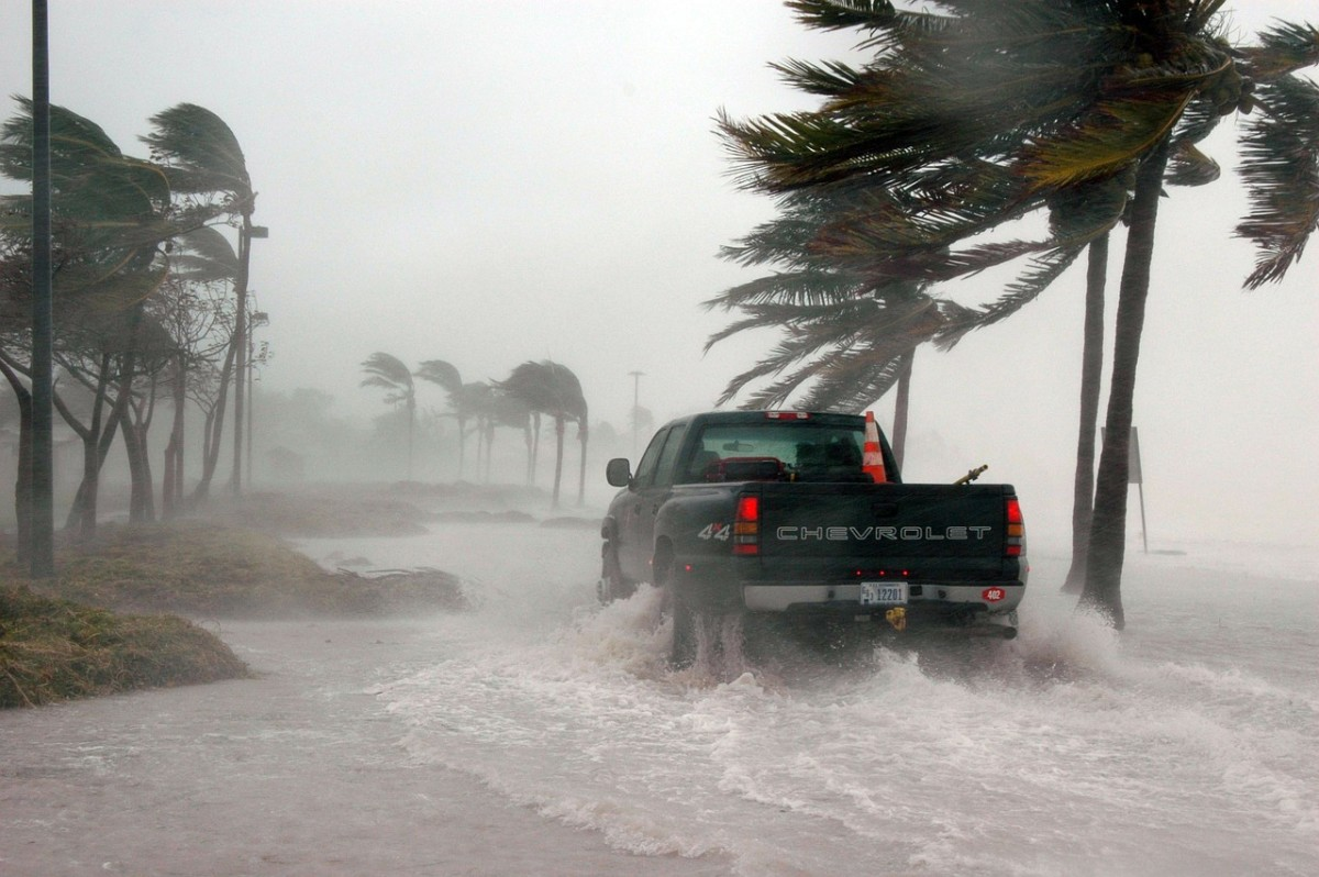 Florida's climate means that it can be victim to some crazy tropical storms.