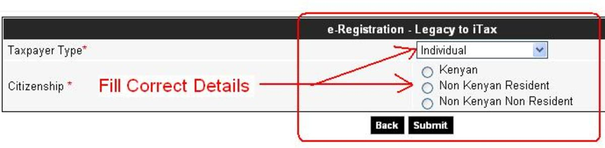 Pin e-registration