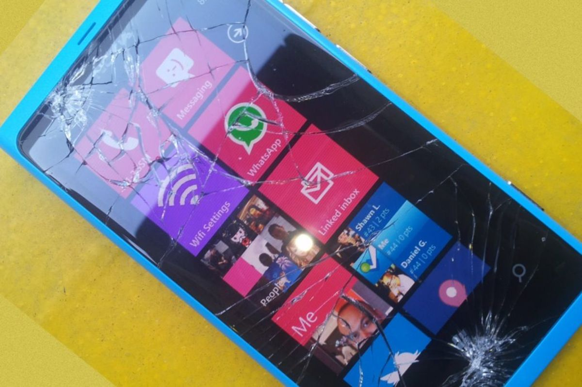 Broken Windows Phone