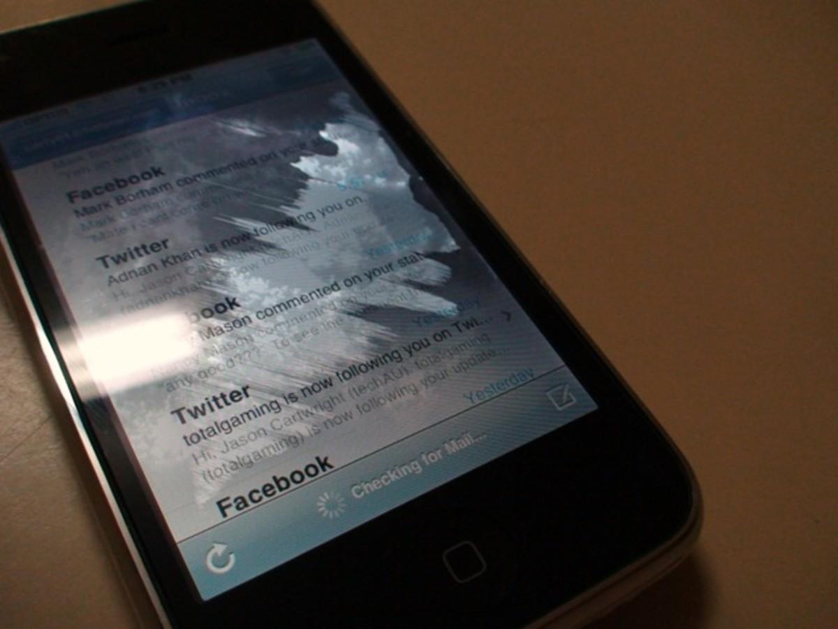 Water Damaged iPhone
