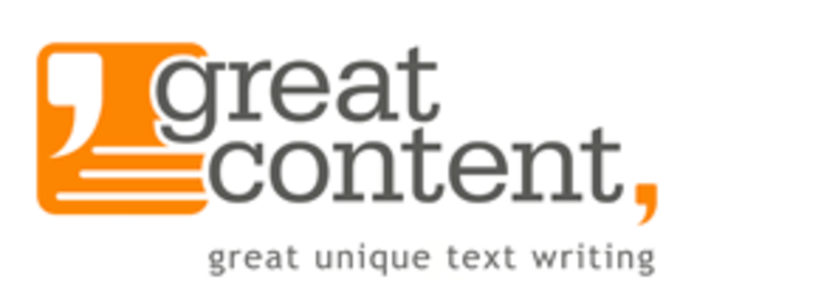 The GreatContent logo.