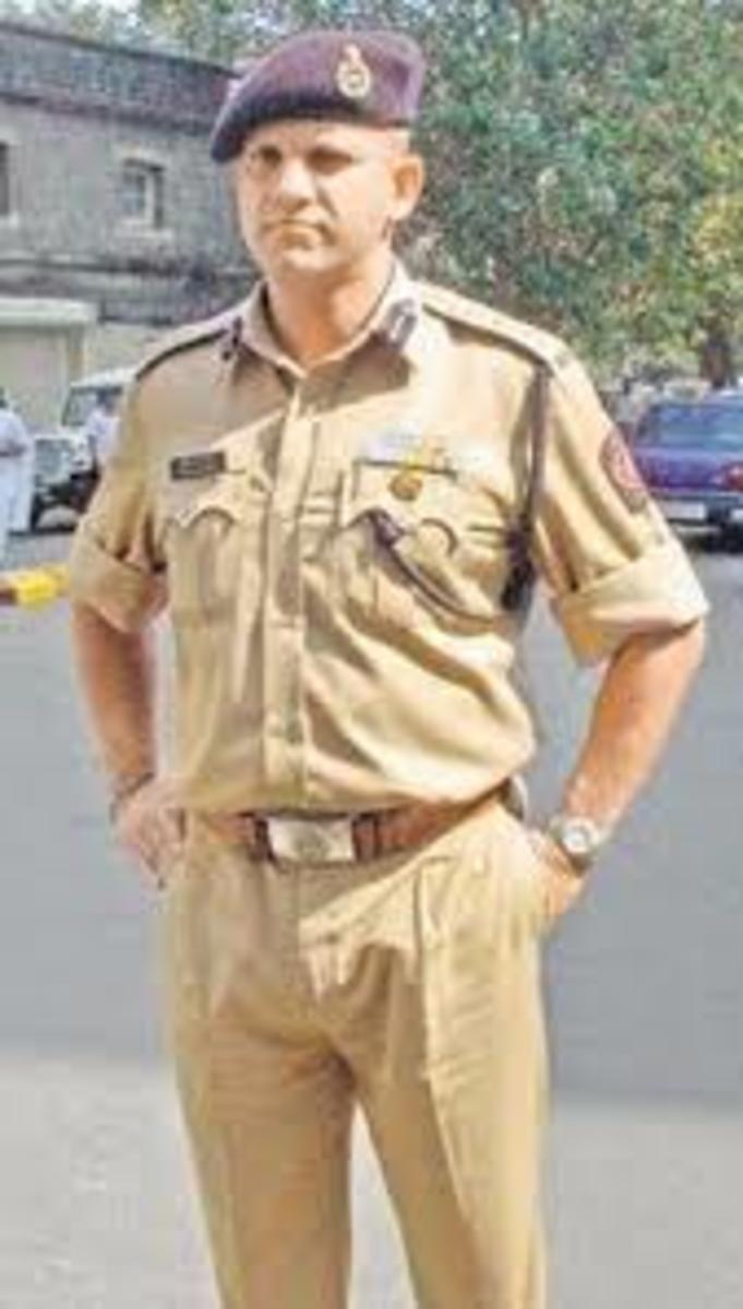 Ashok Kamte, VC, IPS, the hero who gave his life to save the innocents in Mumbai.