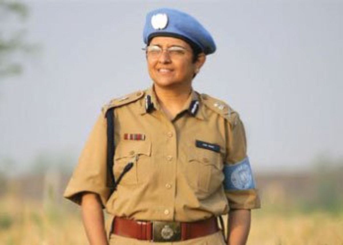 Kiran Bedi, IPS and social worker is a talented and famous person.