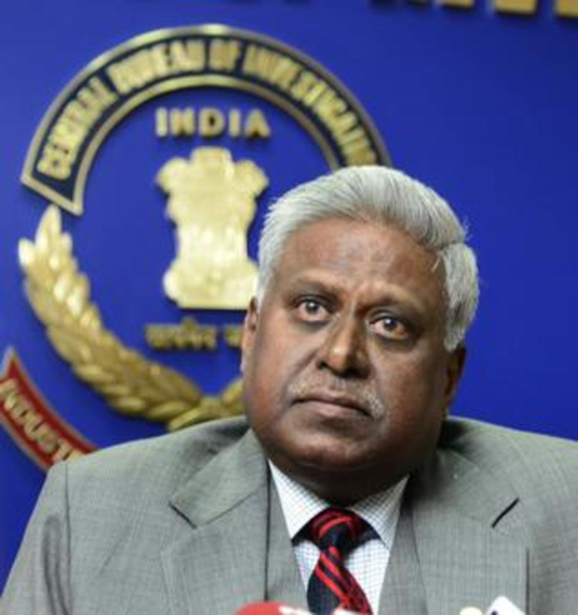 Ranjit Sinha, IPS, is the Director of CBI