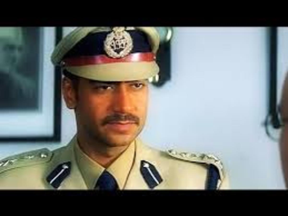 "Ajoy Devgan played the roll of an IPS officer in his movie ""Gangajaal"""