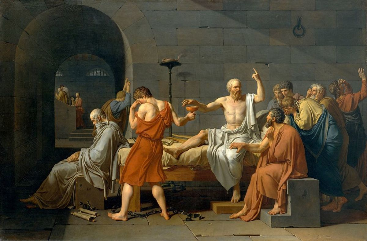 Will you remain as stoic and philosophical as Socrates was when drinking down your cup of Postal Poison?