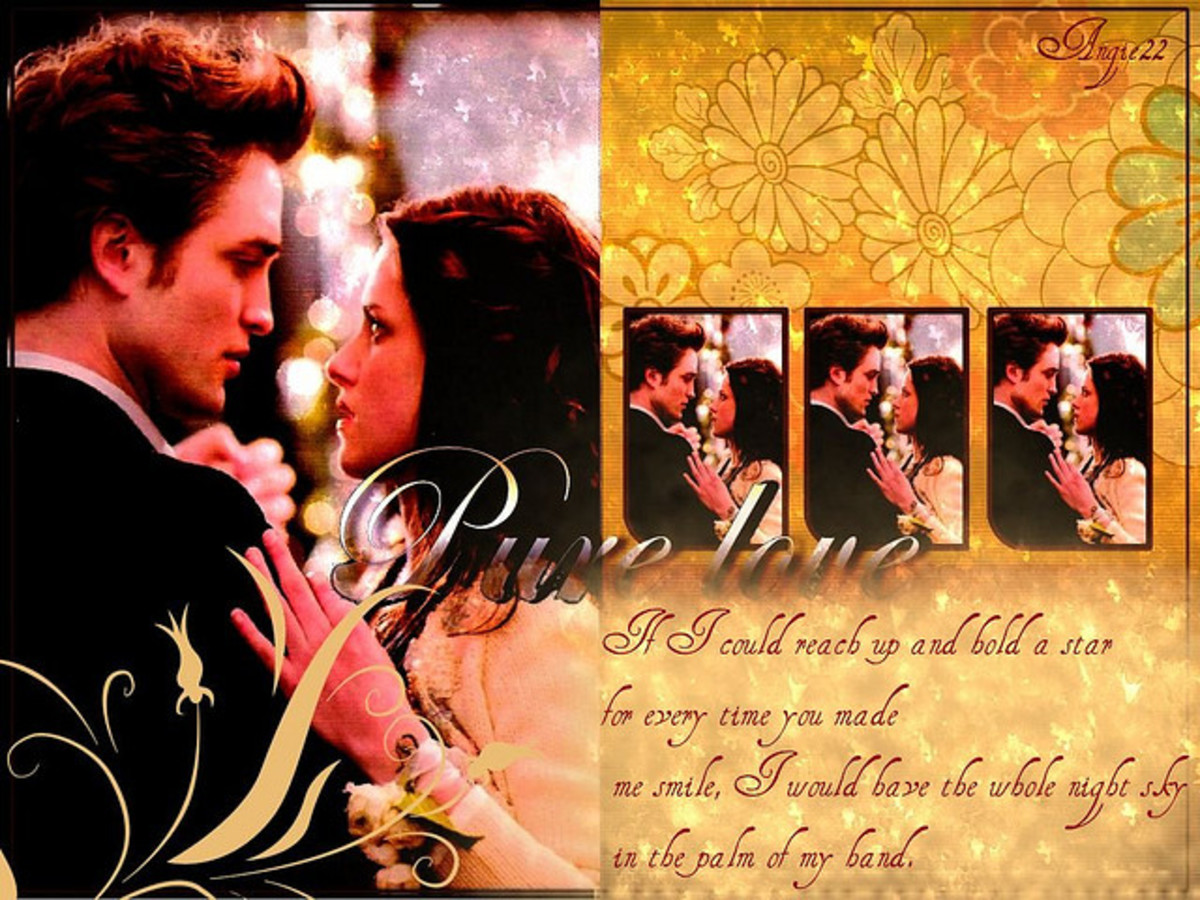 The days Bella and Edward (Twilight) ruled fanfiction sites