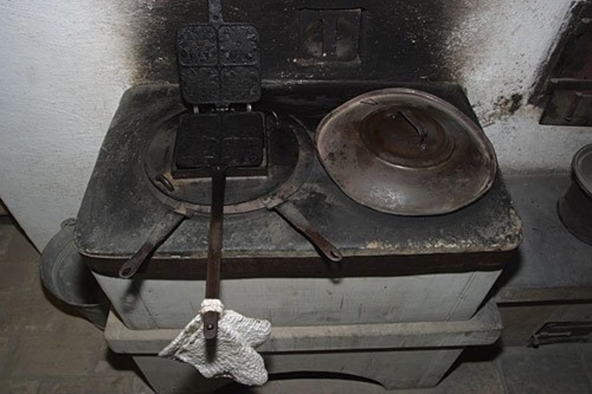 Old stoves can be deceiving.