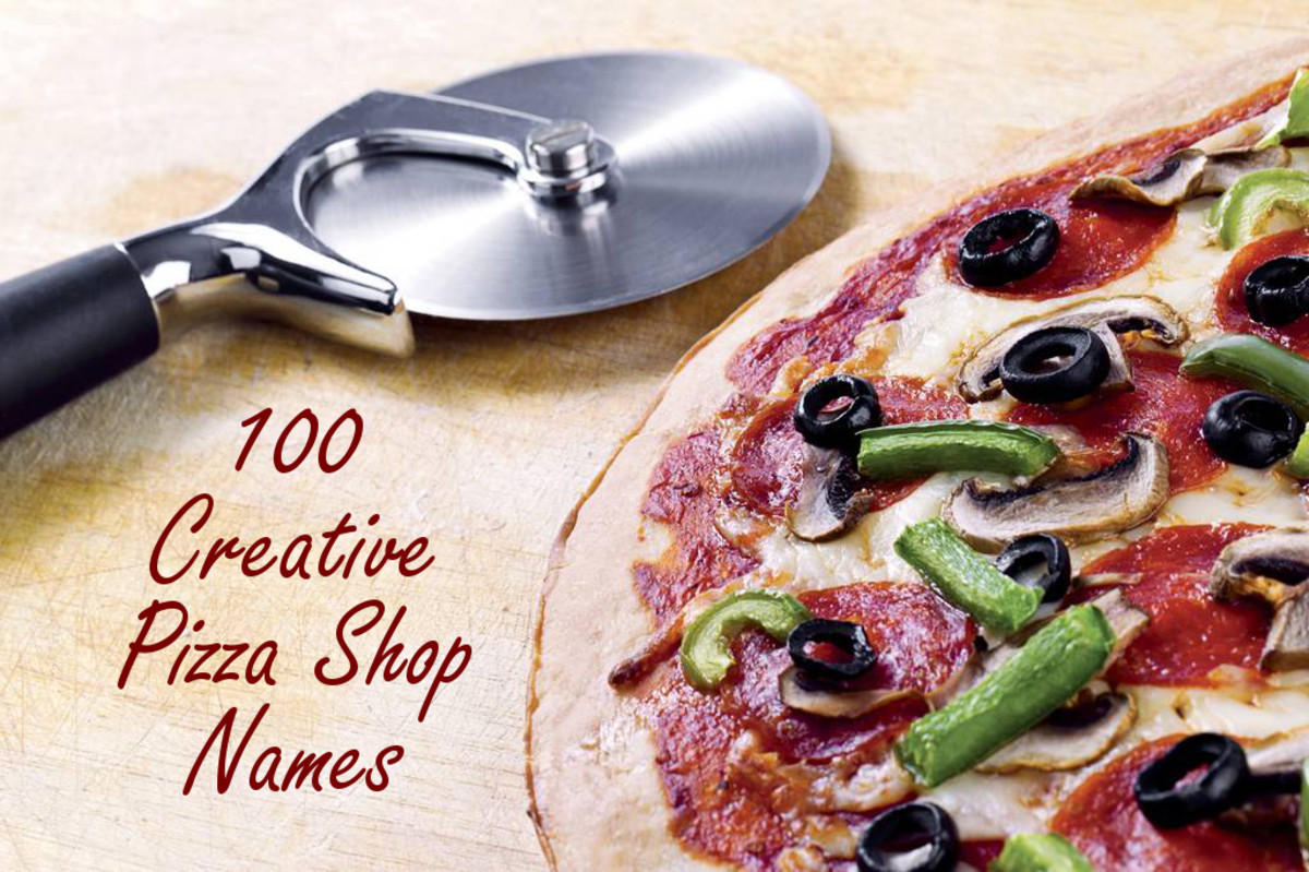 100 Creative Pizza Shop Names