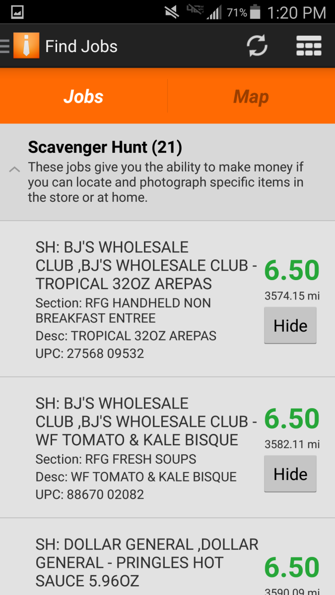 """""""Scavenger Hunts"""" do not mean you're always going to find them at every store you go to. Hence why the name is appropriate, it really feels like you're searching for a certain item you may or may not find."""