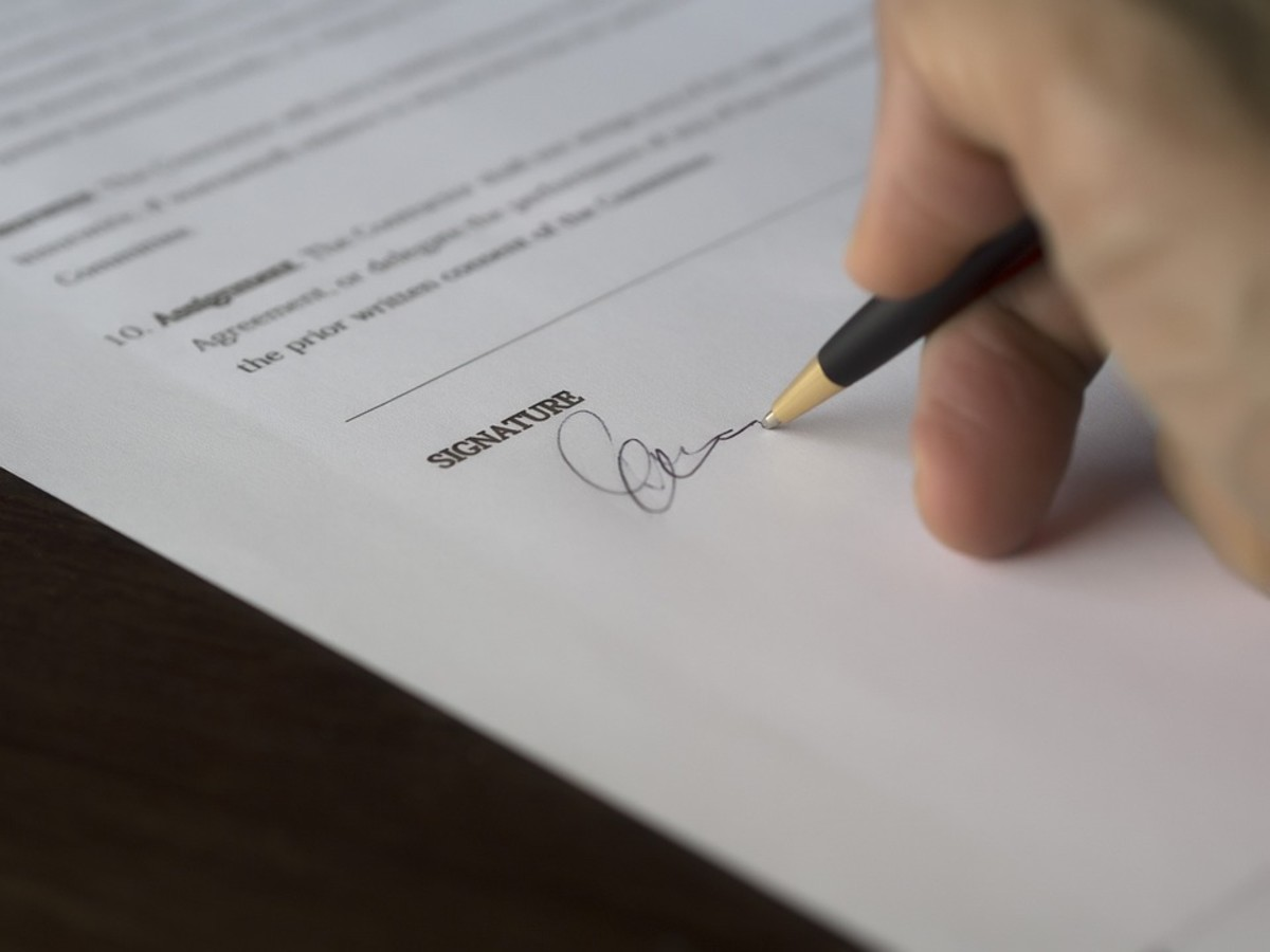 In the end, you want to sign the contract with confidence.