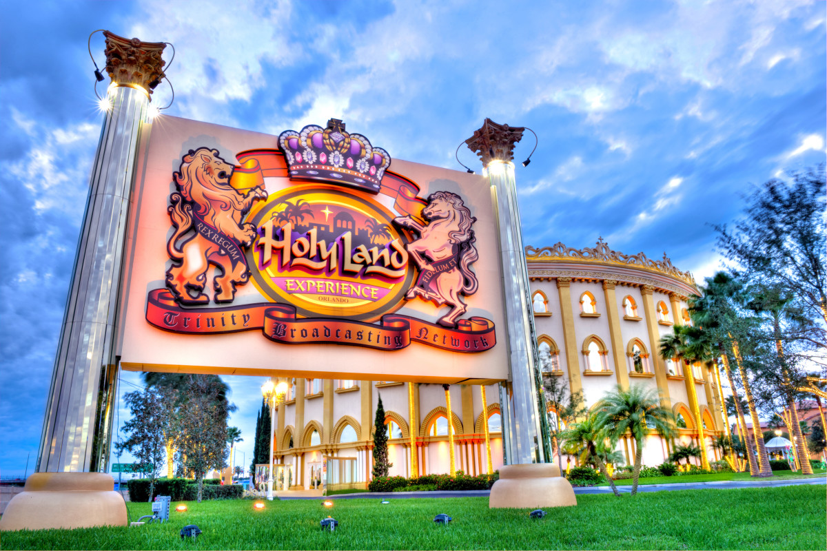 Is the Holy Land Experience a theme park or a a church? It sure looks like a theme park.