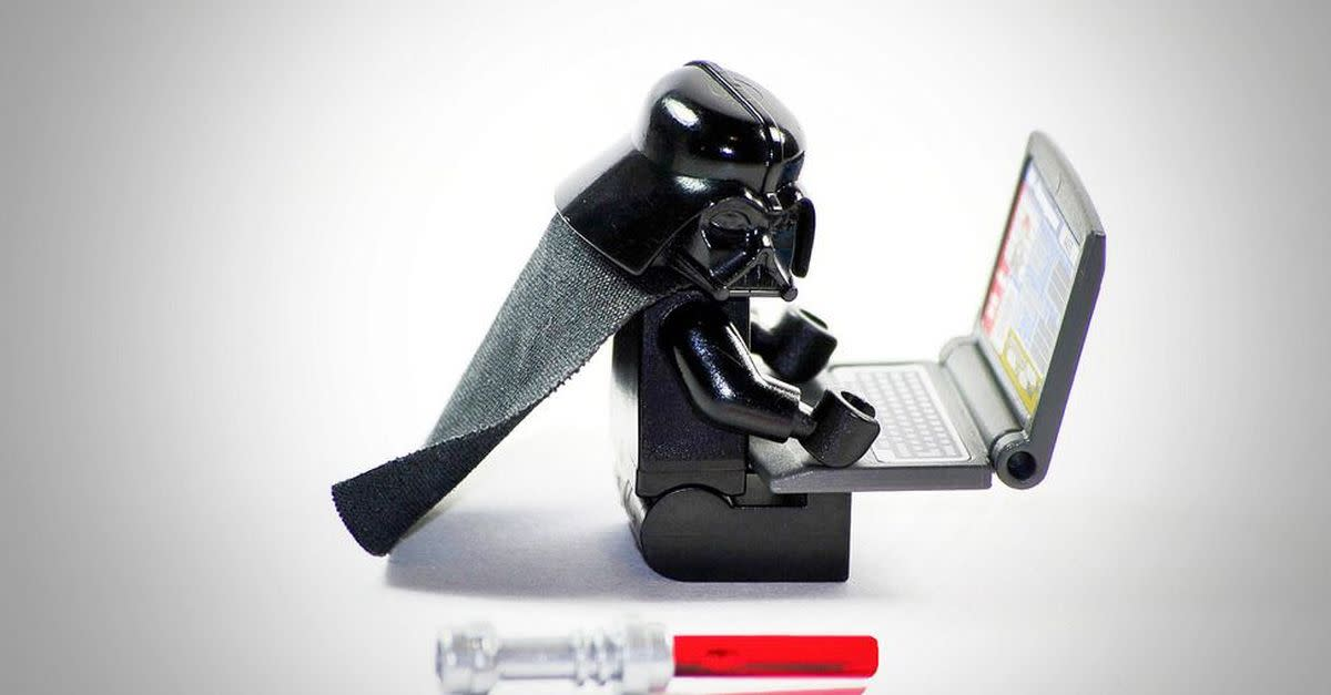 Don't expose your 204b logon information to the powers of the dark side.